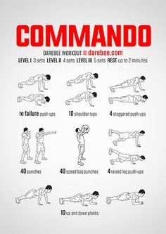 Commando Workout