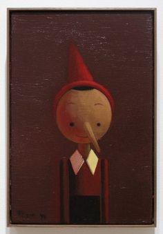 Pinocchio by Liu Ye 2011 acrylic on canvas