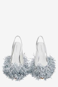 Jeffrey Campbell Noel Tinsel Heel - Shoes | Pumps | Jeffrey Campbell