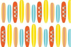 Surfboards Fitted Crib Sheet by LITTLEWOOLF on Etsy, $68.00