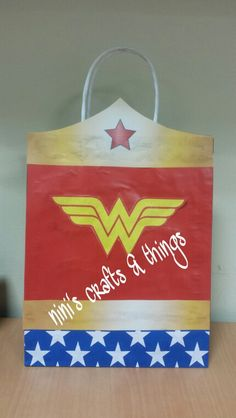 Wonder Woman candy bags