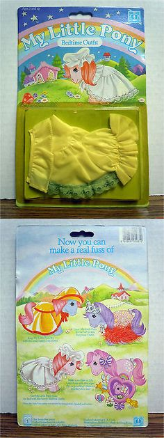 Pre-1990 375: Bedtime Outfit My Little Pony Costume Vintage 1983 Hasbro New -> BUY IT NOW ONLY: $70 on eBay!