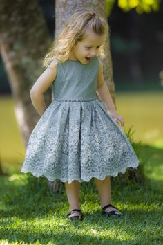 Galeria - Mio Bebê Baby Girl Party Dresses, Little Girl Dresses, Baby Dress, Girls Dresses, Flower Girl Dresses, Fashion Kids, Girls Summer Outfits, Kids Outfits, Kids Bridesmaid Dress