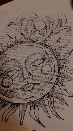 Indie Drawings, Art Drawings Sketches Simple, Cool Drawings, Drawing Designs, Dark Drawings, Colorful Drawings, Drawing Ideas, Arte Peculiar, Arte Sketchbook