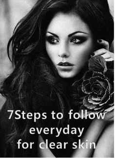 7STEPS TO FOLLOW EVERYDAY FOR CLEAR SKIN  For the information, please click to the link. https://www.facebook.com/en.hanbeauty