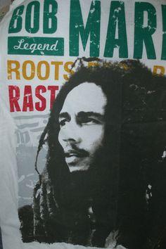 2 Bob Marley Tee Shirts for Tye Dye Project