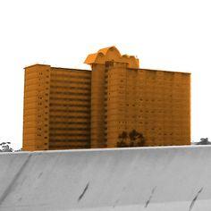 Racecourse Rd (2008) by Zamviza  Art #melbourne #architecture #art #illustration #printmaking #jimjimaggio #design