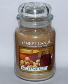 Yankee Candle Maple Walnut, 22 oz, Retired: Home & Kitchen