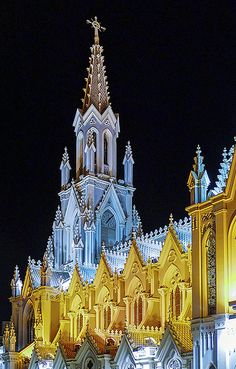 Church of La Ermita, Cali, Colombia - - Colombia, Republic of Colombia, is a country situated in the northwest of South America - Cali Colombia, Colombia South America, Colombia Travel, South America Travel, Ushuaia, Equador, Cathedral Church, Thinking Day, Chapelle