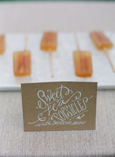 SWEET TEA POPSICLES!? Why didn't I think of that???