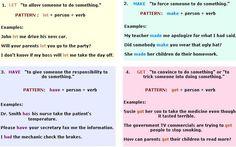 causative verbs let make have get