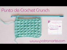 Punto de Crochet Crunch - Crochet Back Scrubbie Crochet Picot Edging, Crochet Cord, Crochet Cable, Crochet Buttons, All Free Crochet, Freeform Crochet, Tunisian Crochet, Crochet Squares, Crochet Stitches