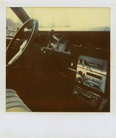 According to me, the bench seat was invented, so my honey can drive and I can put my head in his lap and fall asleep.
