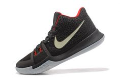 UK Trainers Cheap Glow in the Dark Nike Kyrie 3 Black Red Mens Basketball Shoes 2018 Autumn Sale Kyrie Basketball, Adidas Basketball Shoes, Jordan Basketball, Basketball Equipment, Basketball Birthday, Basketball Games, T Shirt Designs, Kevin Durant, Spalding Basketball Hoop