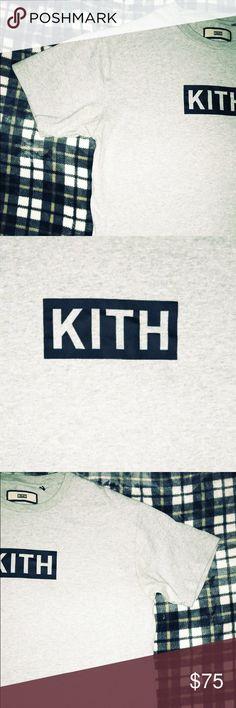 Kith Box Logo SZ L Grey kith box logo released 2016 Mint condition kith Shirts Tees - Short Sleeve