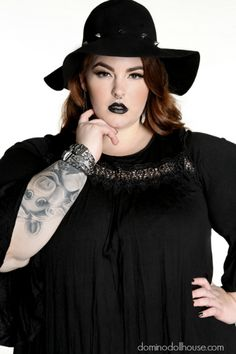 1e9539a0c9a Domino Dollhouse Vintage Valentine Featuring Tess Holliday. A plus size ...