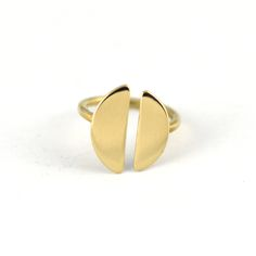 brass split ring by claus