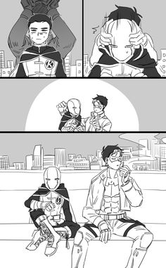 Red Hood & Robin. Cute.
