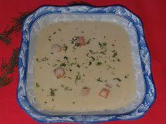 Lulu - Povesti din Bucatarie: Supa manastireasca de conopida Pudding, Desserts, Food, Tailgate Desserts, Deserts, Custard Pudding, Essen, Puddings, Postres