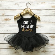 Make her day sparkle! Dress your little princess in an adorable sparkle tutu dress from www.shopcassidyscloset.com in black with white and gold sparkly glitter print.