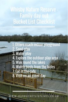 Whisby nature reserve, family day out, bucket list, checklist. UK day out. Days out ideas with kids