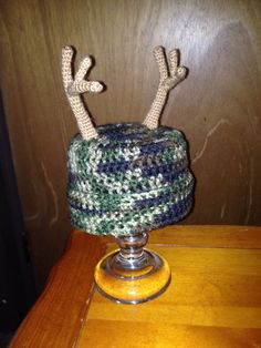 Toddler Camo Hat $15 ~ this one is a 6 pt. 'Rhonda's Creations' on fb