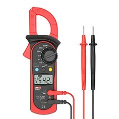Signstek Uni-t UT202A Auto-Ranging AC/DC Voltmeter and AC 600 AMPS Meter Auto/Manual Range Digital Handheld Clamp Meter Multimeter AC DC Test Tool - The Digital Clamp Meter UT202A is a reliable and low consumption Auto/Manual range AC clamp meter, which can be used to measure AC/DC voltage, AC current, residence, continuity test and diode check. Digital Clamp Meter Uni-T 202A Features and Functions: * Measuring functions: - AC/DC voltage - AC...