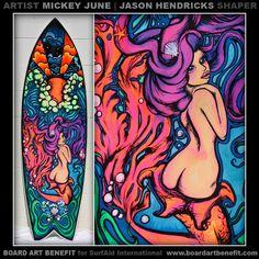 """""""Eleanor"""": Custom board art available @ www.boardartbenefit.com"""