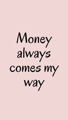 Money Affirmations, Positive Affirmations Quotes, Positive Quotes, True Quotes, Motivational Quotes, Inspirational Quotes, Mantra, Law Of Attraction Affirmations, Visualisation