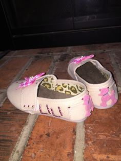 Embroidered Toddler Girl Shoes