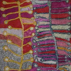 Ultukunpa - Honey Grevillea by Tjampawa Katie Kawiny