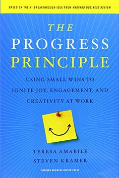 The Progress Principle: Using Small Wins to Ignite Joy, Engagement, and Creativity at Work von Teresa Amabile http://www.amazon.de/dp/142219857X/ref=cm_sw_r_pi_dp_ZpaDvb0V7NDPE