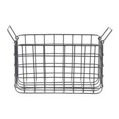 GADDIS Basket IKEA Each basket is woven by hand and is therefore ...