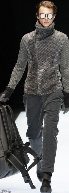 Emporio Armani Fall 2016   Men's Fashion & Style   Shop Menswear, Men's Clothes, Men's Apparel & Accessories at designerclothingfans.com
