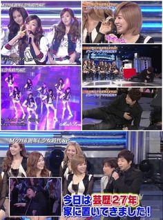 Girls' Generation Makes Japanese Comedian Faint?