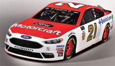 Jayski's® NASCAR Silly Season Site - 2017 Monster Energy NASCAR Cup Series #21 Paint Schemes