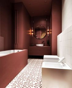 Bathroom Trends 2019 / 2020 – Designs, Colors and Tile Ideas - InteriorZine - Salle de Bains 01