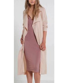 Mossman The Beautiful Stranger Trench In Oatmeal