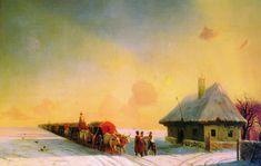 The Athenaeum - Chumaks in Little Russia (Ivan Constantinovich Aivazovsky - )