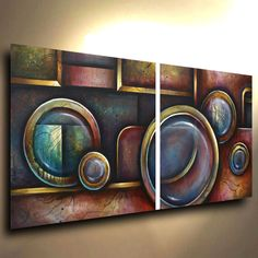 Painting Original Michael Lang Abstract Modern Contemporary ART DECOR Certified