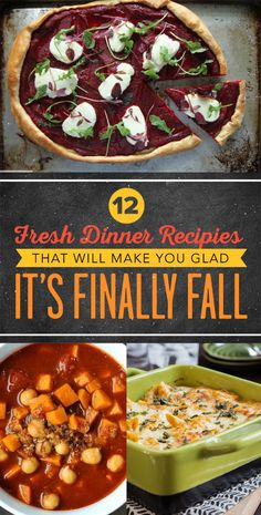 Fall is in the air, which means it's time to make your kitchen smell oh-so-delicious with these seasonal dishes.