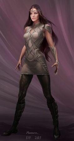 Lady Sif Concept | Novas artes conceituais de Thor revelam Balder!