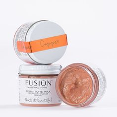 Fusion Furniture Wax - Copper — My Painted Door Copper Furniture, Furniture Wax, Outdoor Furniture, Furniture Ideas, Copper Metal, Copper Rose, Rose Gold, Mineral Paint, It Goes On
