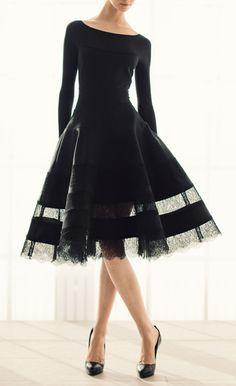 so classy | dress by Donna Karan