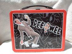Pee Wee Herman Metal Lunch Box