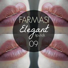 mela-e-cannella: FARMASI Lipstick - Elegant 09 nude