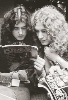 Jimmy Page & Robert Plant...