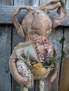 Primitive Spring Bunny...