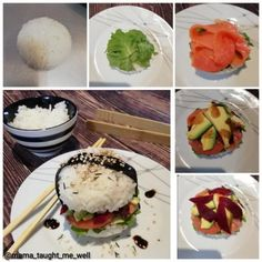 Sushi Burger recipe by Ruhana Ebrahim posted on 30 Jul 2019 . Recipe has a rating of by 1 members and the recipe belongs in the Rice Dishes recipes category Rice Dishes, Food Dishes, Vegan Gluten Free, Vegan Vegetarian, Sushi Burger, Pickled Ginger, Layer Dip, Food Categories, Burger Recipes