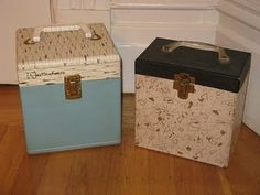 vintage 45 record cases, took them to friends house and to parties. I still have…